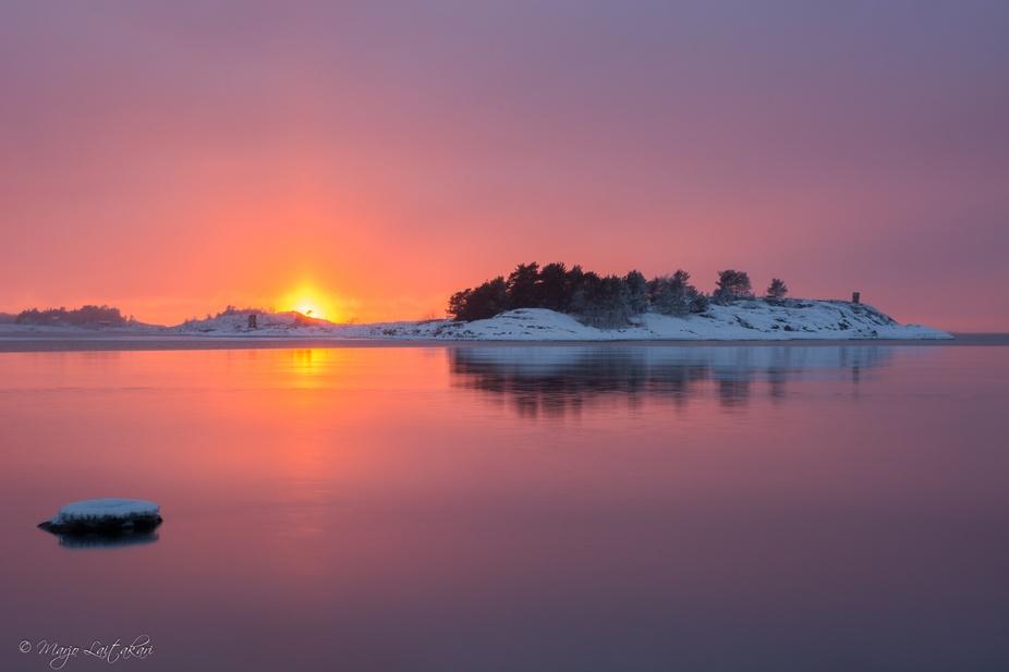 One winter evening