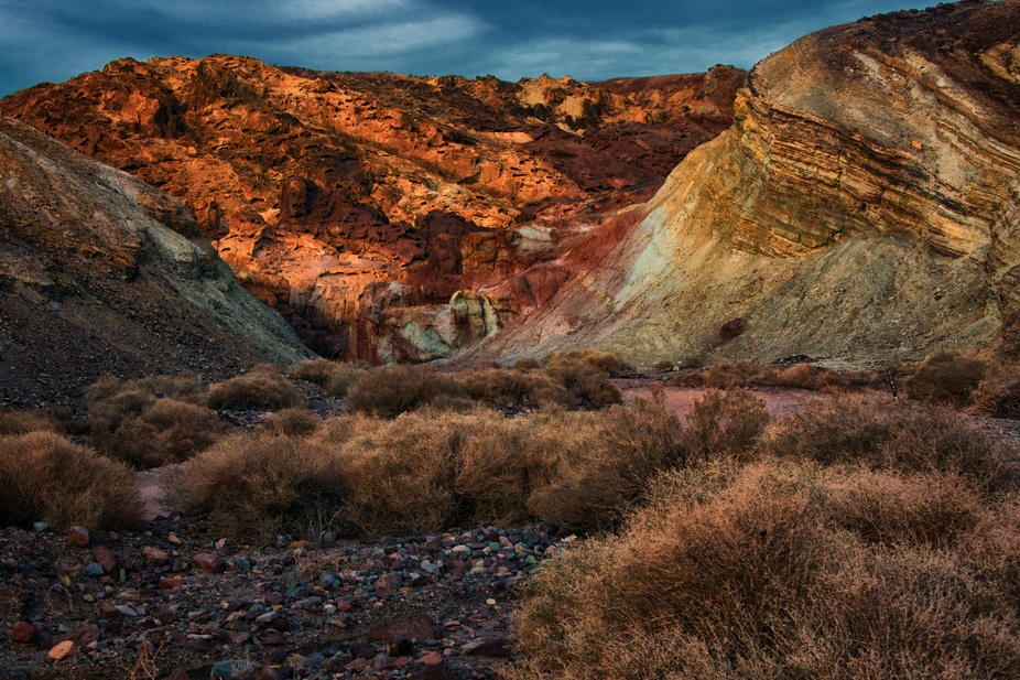 Cruising the Calico range in a 4 x 4 one can find innumerous opportunities for photography. The c...