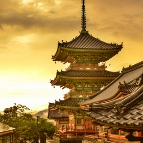 Kiyomizu-dera - Kyoto - Japan.