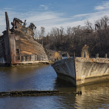 Long abandoned ships
