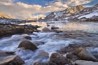 Big Arroyo Creek and Eagle Scout Peak