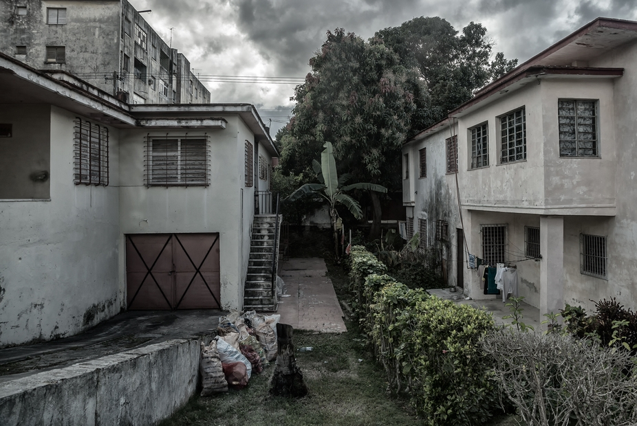 A couple of homes located in Havana Cuba