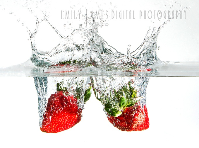 Strawberry Splash by Emily_James4680 - Commercial Style Photo Contest