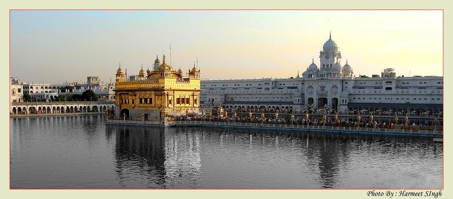 The Harmandir Sahib (Punjabi: ਹਰਿਮੰਦਰ ਸਾਹਿਬ), also Darbar Sahib (Punjabi:...