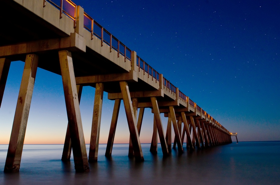 Shot at 4:51am on Navarre Beach in Florida\'s Panhandle