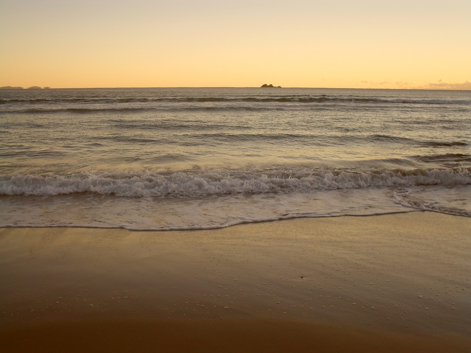 Early morning at Byron Bay capturing the sounds of the sea on the sand & the peace & sere...