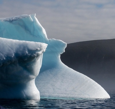 Abstract icebergs
