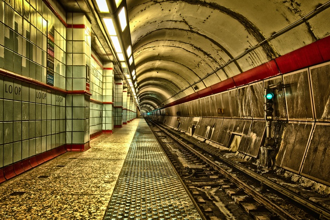 Subway by ctbugan - Metro Stations Photo Contest