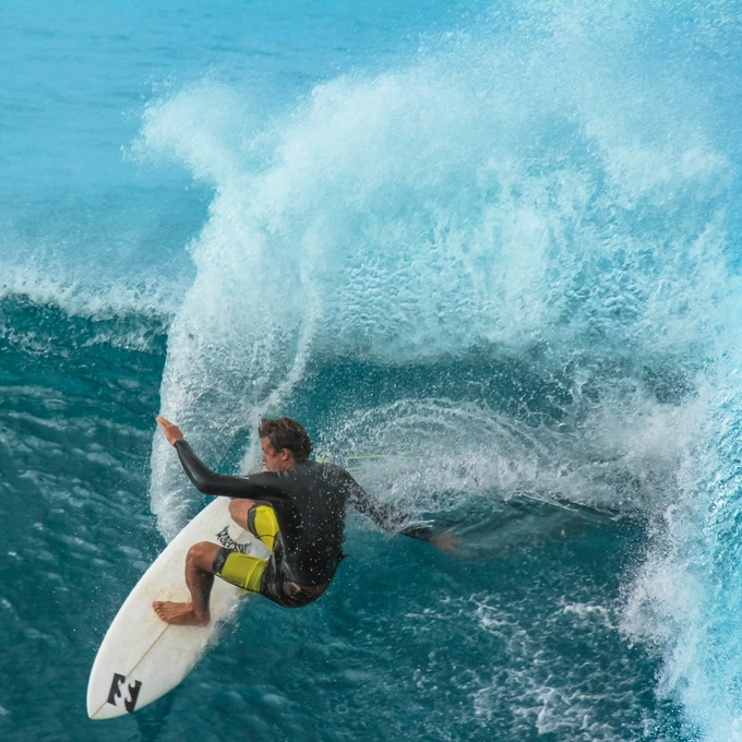 Surfer by mikemarshall - Healthy Lifestyles Photo Contest