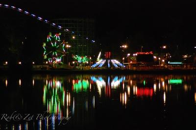 Lakeside lights