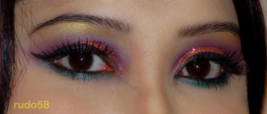bride\'s eyes