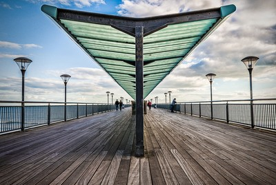 Boscombe Pier Bournmouth UK
