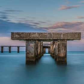 This shot is of the old abandoned pier on Gasparilla Island in Boca Grande, Florida. This image is for sale at http://www.joeleonephotography.com...