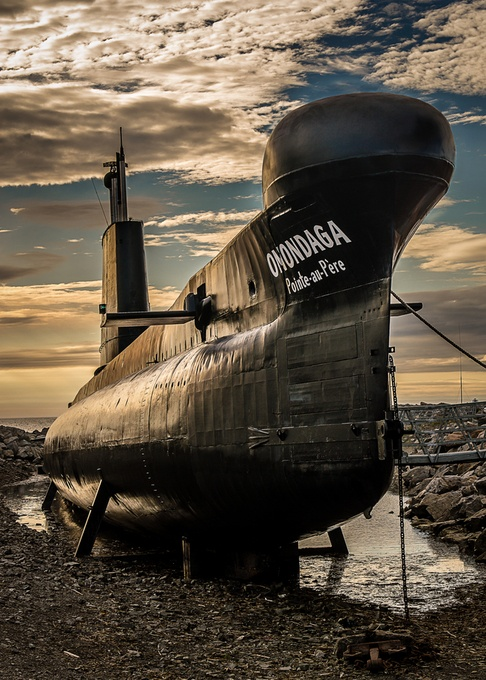Onondaga Submarine by tracymunson - Metallic Matter Photo Contest