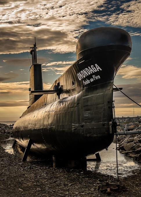 Onondaga Submarine by tracymunson - Metallic Matter Photo Contest