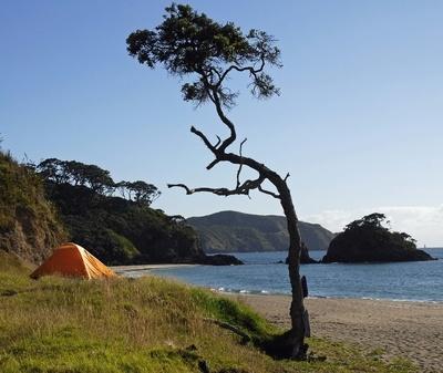 Camping New Zealand.-1