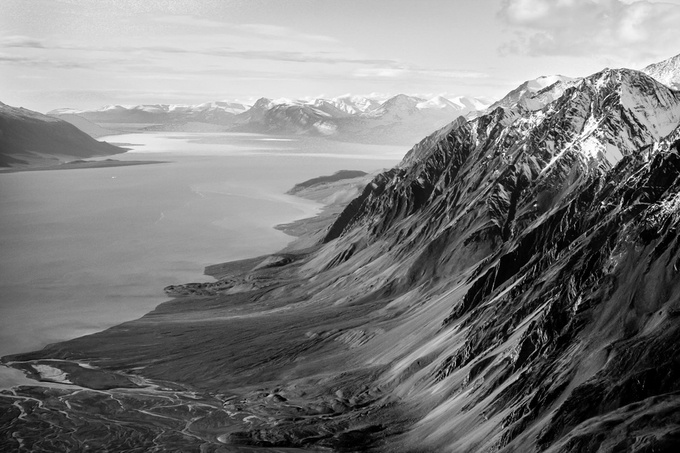 Arctic mountains of Quttinirpaaq National Park by PLHinds - Black And White Landscapes Photo Contest