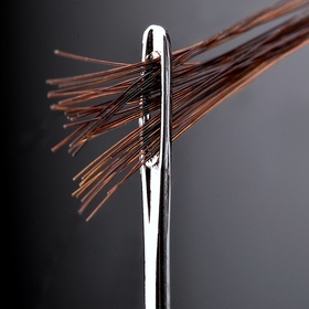 Ever wondered how many strains of human hair can pass through an eye of a needle ? Answer: 34