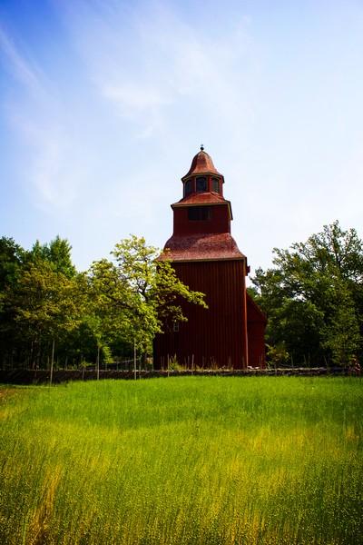 Seglora church in Sweden