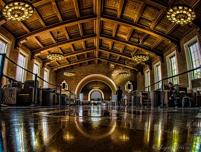 Union Station Los Angeles.  All aboard!