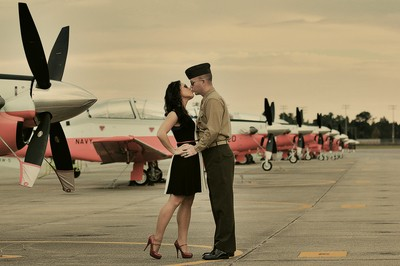 Flight Line Romance