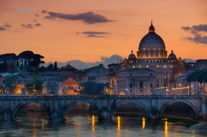 20130605-Rome Dusk 1a by Powelly - Around the World Photo Contest By Discovery
