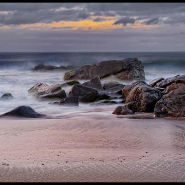 Sunset on the Sayulita beach