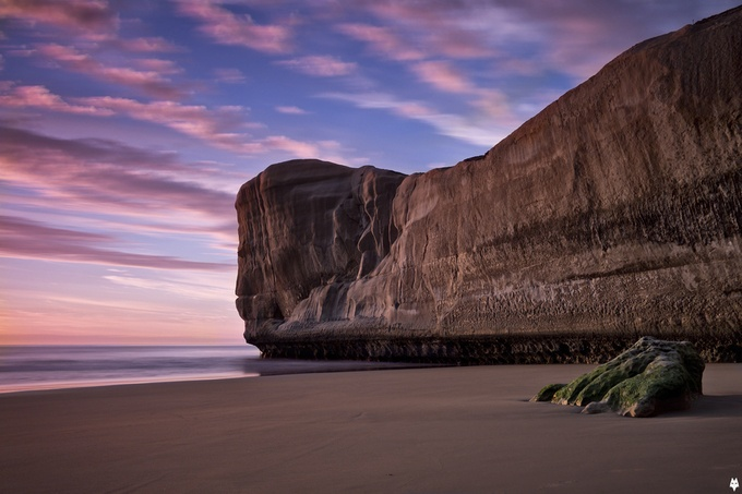 tunnel beach by ShadowfoxCreative - Cloud Painting Photo Contest