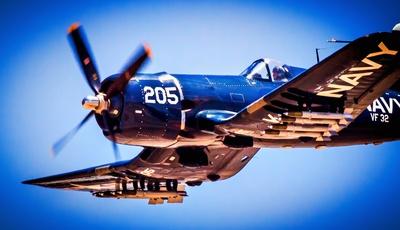 F4U Corsair up-close