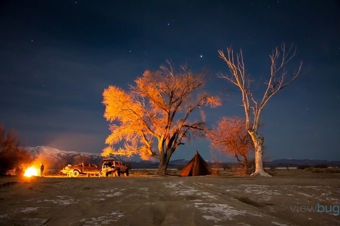 Desert Camp by ChrisVanLoan - Shooting Fire Photo Contest