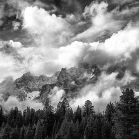 I had given up on photographing this day, the clouds thick & heavy.Heading back to camp to spend time post processing instead, the clouds began t...
