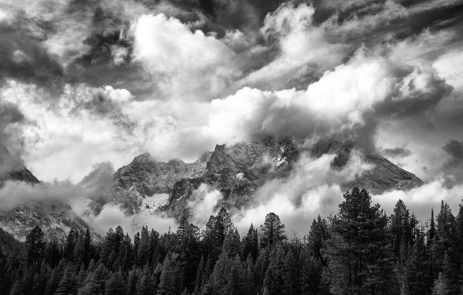 I had given up on photographing this day, the clouds thick & heavy.Heading back to camp to sp...