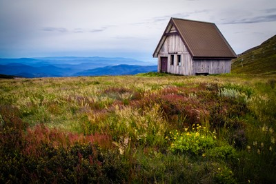 Pendergast Hut. Mt Buller  Victoria