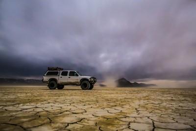 Midnight Dust Storm