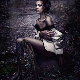 She goes into the forest. After a long walk she sits to dwell within. The night begins to fall as the moon rises over head. She finds much comfor...