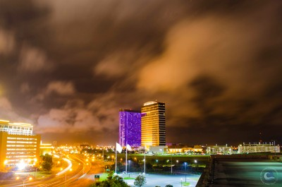 Atlantic City Night Scape