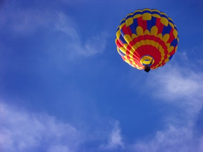 Up, up, and away...