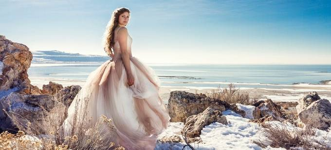 Antelope Island Bride by talynsherer - Beautiful Brides Photo Contest