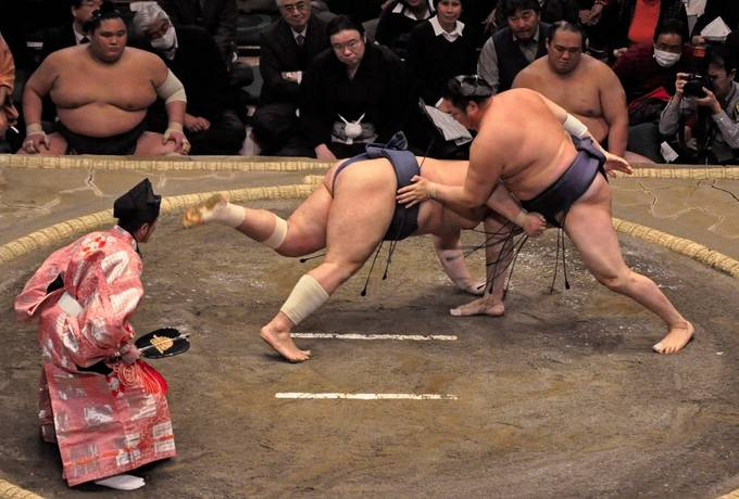 Sumo Drop by MEDOM - Cultures of the World Photo Contest