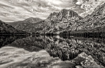 Carson Peak, Black & White