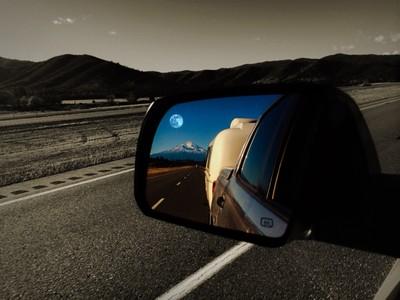 Rear view mirror memories