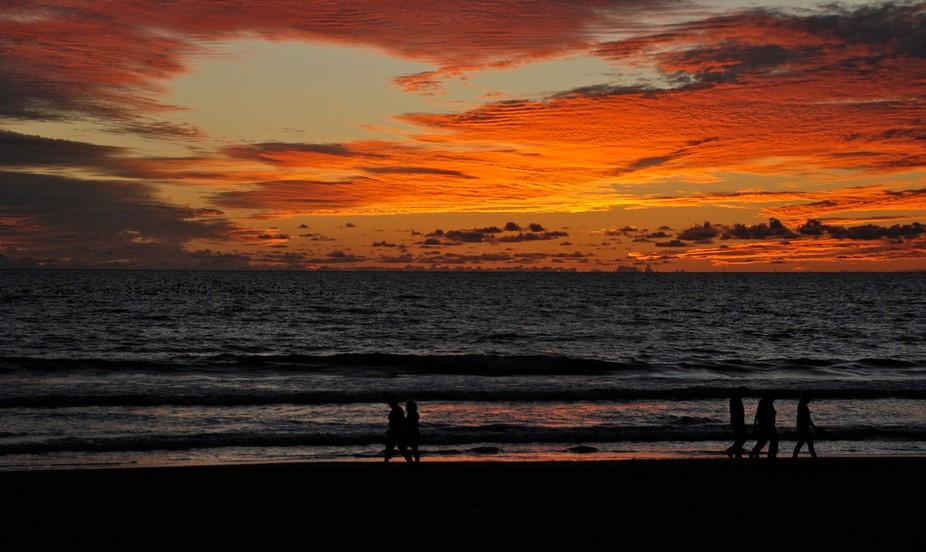Beach of Banderas sunset