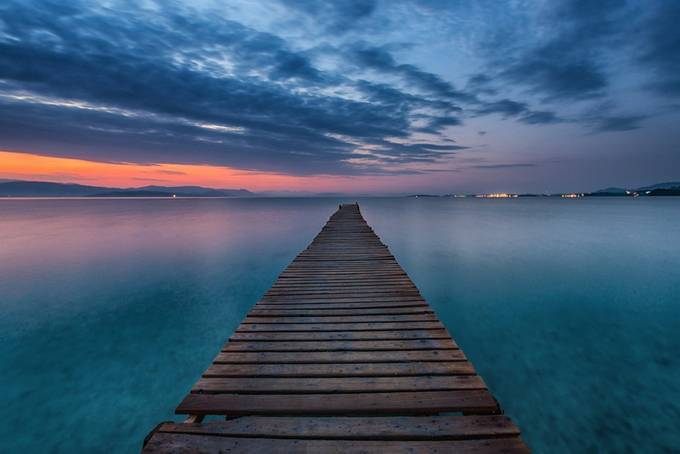 Ipsos Jetty by antoniozarli - Stillness Photo Contest
