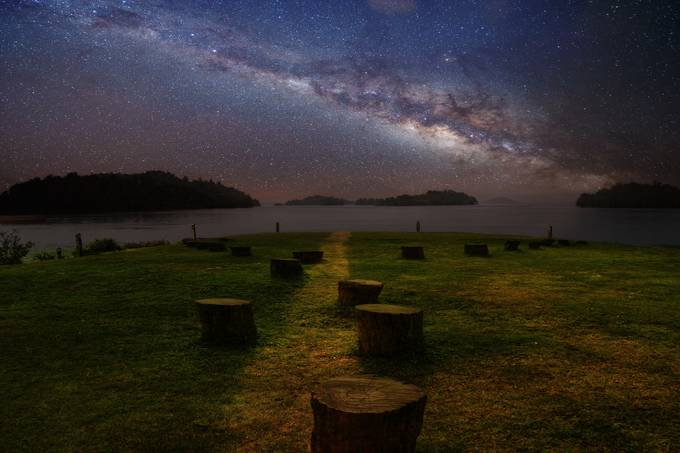 silent nigth by joecas - The Milky Way Photo Contest