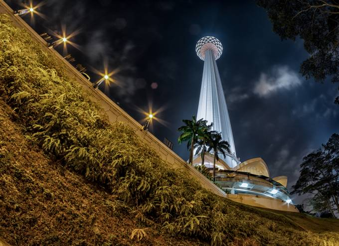KL Tower by antoniozarli - Composing with Diagonals Photo Contest
