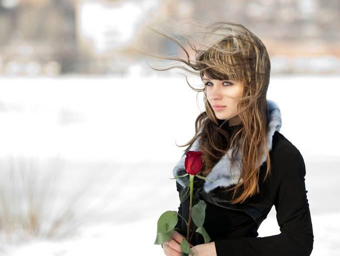 Alena by usachevalexander - Long Hair Photo Contest