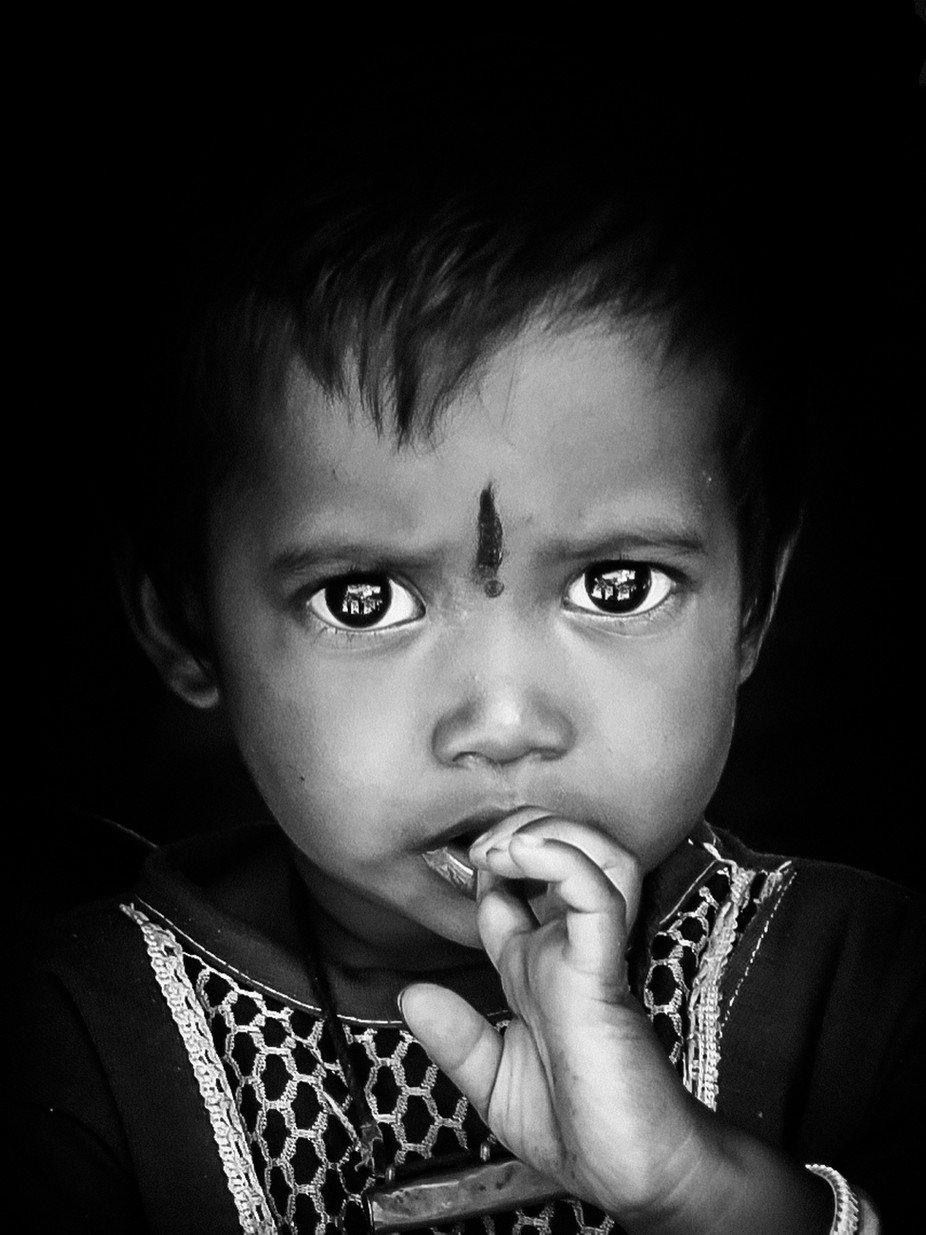 Boy with Large Eyes by Cashman - Cultures of the World Photo Contest