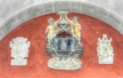 Church detail in Padova