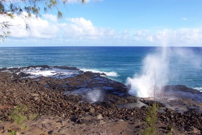Kauai geysers