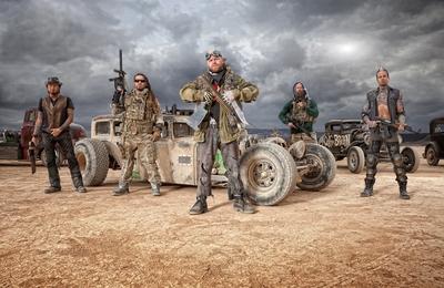 Five Finger Death Punch Promo Shoot
